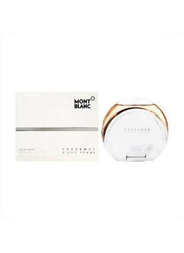 Mont Blanc Presence D Une Femme Edt 75 Ml Kadın Parfüm Renksiz